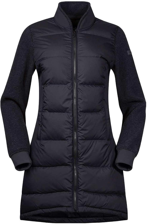 Bergans Oslo Down Hybrid Long Jacket damen - Daunenmantel