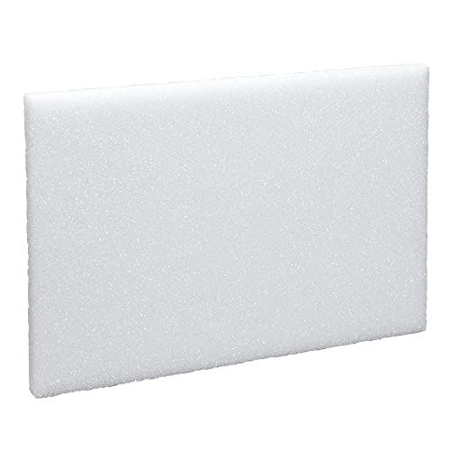 25 Large White Rigid Polystyrene Foam Sheets Boards Slabs 4ft x 2ft