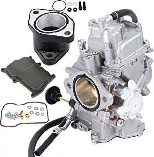 YFM350 Carburetor w/Intake Manifold for Yamaha Big Bear Warrior Wolverine Moto-4 YFM 350 Yfm350 ATV Quad 1987-1998