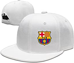 Baseball Caps Football Club FC Barcelona Classic Logo Flat Bill Cool Hat