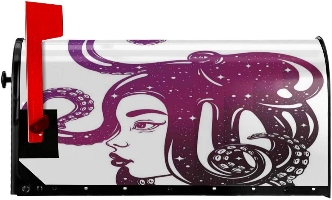 """NCXIAO Reservation Magnetic Mailbox Cover - 21""""H x 18""""W Pr Female free shipping"""