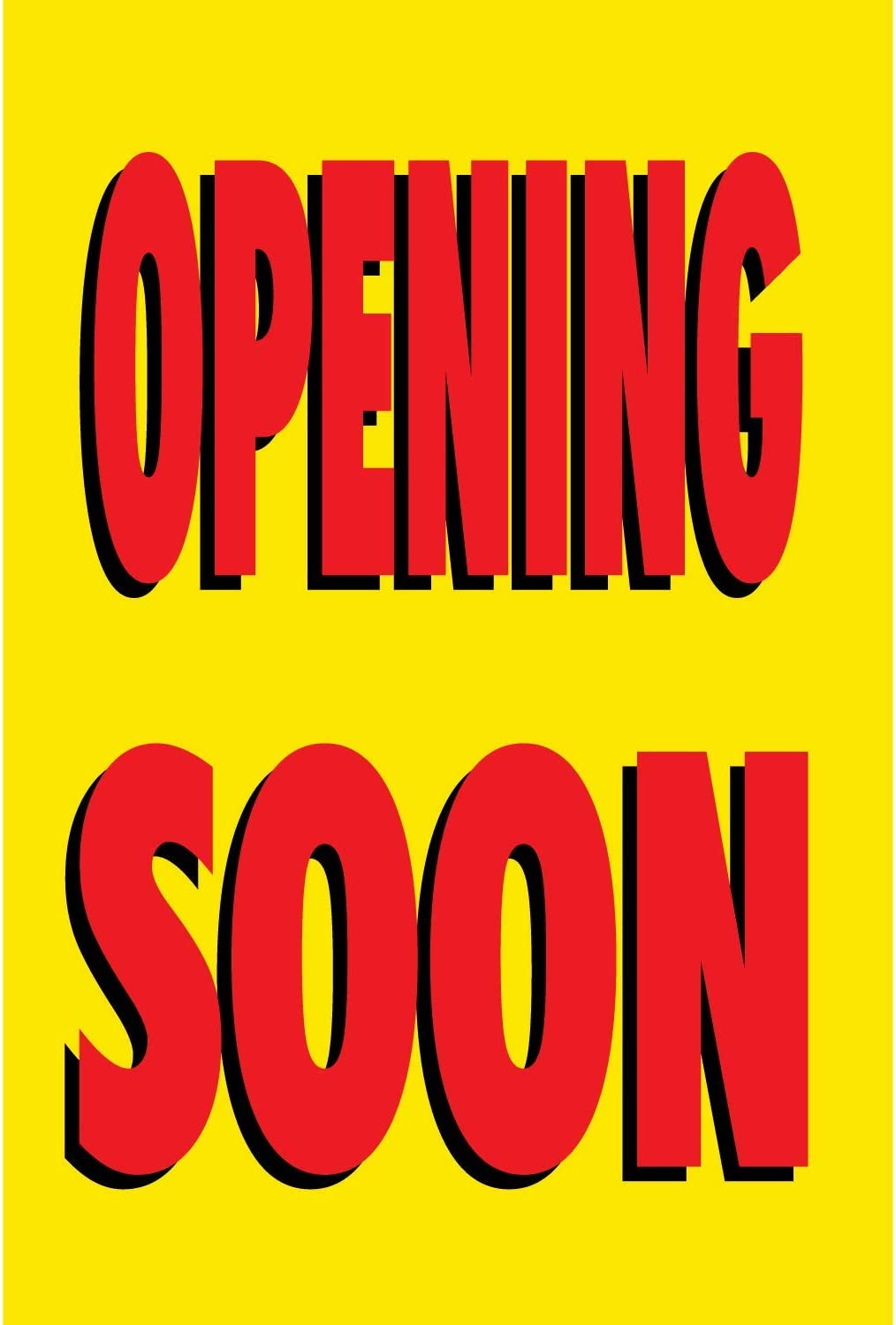HALF PRICE BANNERS Opening Soon -Heavy Duty 2021 spring and summer new Outlet sale feature Vinyl Outdo Banner