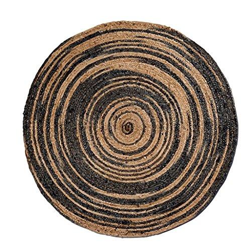 Good thing tapis Tapis rond Tapis de séjour Tapis d'impression couleur et teinture Salon Chambre Chevet Tapis Tapis Tapis ronds Couverture (Couleur : A, taille : Diameter 160cm)