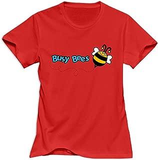 GIYW Women's Funny Bee T-Shirt,100% Organic Cotton