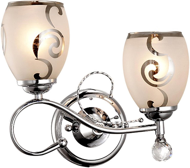 MMM- Moderne einfache Lampe Bedside Schlafzimmer Lichter Crystal American Gang Korridor Lampen