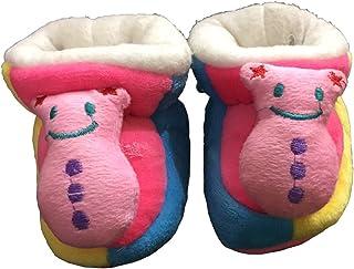 WTDESIGN Winter Warm & Soft Booties (Toe to Heel Length - 8 cm Yellow)
