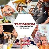 THOMSON Fondue Set elektrisch (8 Personen) - Fondue elektrisch für Fleischfondue, Käsefondue & Schokoladenfondue, Fondueset mit Antihaft-Beschichtung, inkl. 8 Gabeln - 7