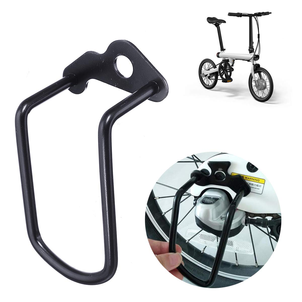 YONGYAO Protector del Desviador Trasero De La Barra De Protección para xiaomi Qicycle Ef1 Bicicleta Eléctrica: Amazon.es: Hogar