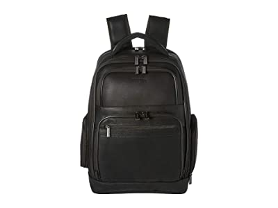 Kenneth Cole Reaction Colombian Leather 15.6 RFID Computer Backpack