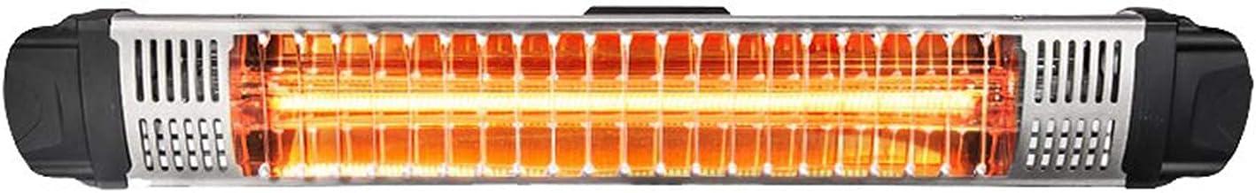 YAOBAO Estufa Infrarroja, Calefactor Pared Terraza, Radiador Infrarrojos Exterior, Rendimiento hasta 1880 W, Calefactor Radiante, Ideal Uso En Exteriores, IP65