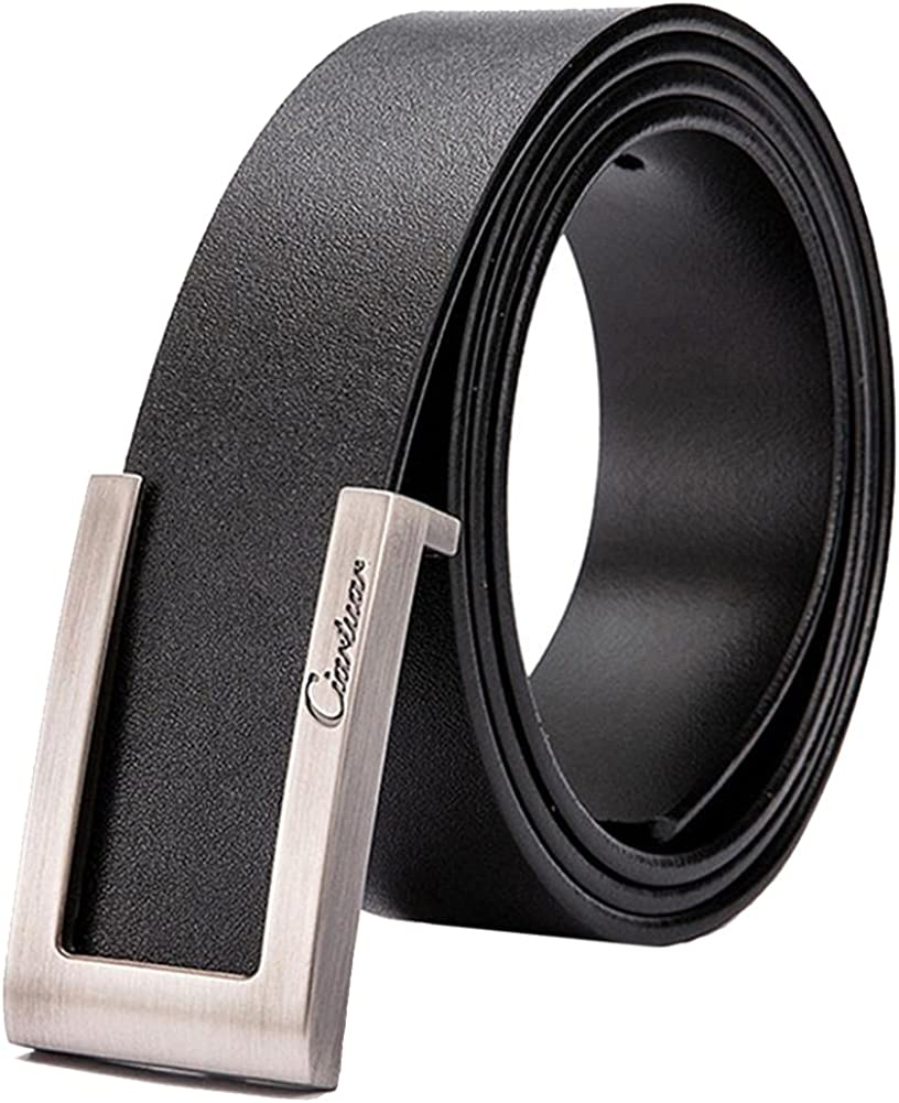 Belt Leather Belts For Men Strap Mesa Mall Max 81% OFF Man Jeans Waist