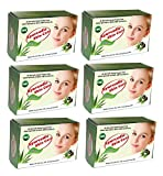 IMC Ayurvedic Skin Care Soap, Enriched with Aloe Vera, Neem, Sandal and 27 Herbs - Set of 6