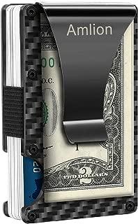 Carbon Fiber Wallet, RFID Blocking Minimalist Wallet for Men,Credit Card Wallet