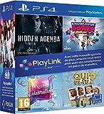 Pack Jeux PlayLink PS4: Qui es tu ? + Knowledge is Power + SingStar Celebration + Hidden Agenda - PlayStation 4 [Importación francesa]