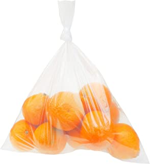 Clear Plastic Bags, 12