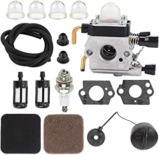 Milttor FS 80 Carburetor FS85 Air Filter Fit FS85R Carburetor FS74 FS75 FS76 FS80 FC75 FC85 HL75 HT70 HT75 SP85 FS80R FS85...