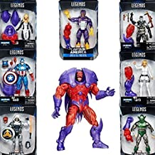 Marvel Legends Series Captain America Red Onslaught BAF- Set of Seven 6