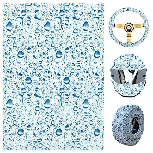 Fafalloagrron YS041 Hydrographischer Film, Wassertransferdruck, für Zuhause, Autos, Gitarre, Dekoration, für Zuhause Wohnungsdekoration M Siehe Abbildung