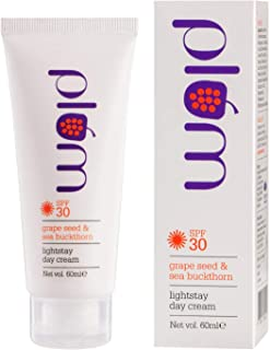 Plum Grape Seed and Sea Buckthorn Light Stay Day Cream SPF30, 60ml