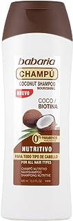 Babaria Champú Nutritivo Coco y Biotina - 400 ml