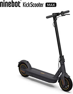 SEGWAY Ninebot MAX Electric Scooter, 40.4 Miles Long-Range Battery, Up to 15.5 MPH, Portable Folding Commuting Kick Scooter for Adults, Dark Grey