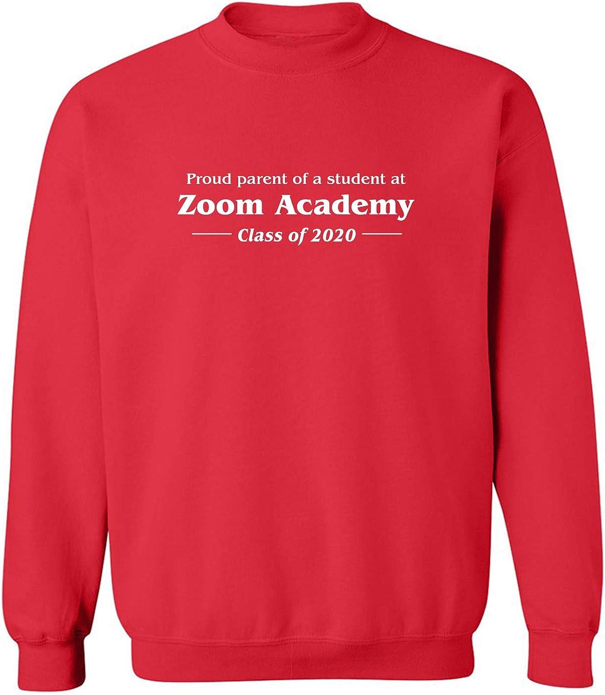 Proud Parent Of A Student At Zoom Crewneck Sweatshirt