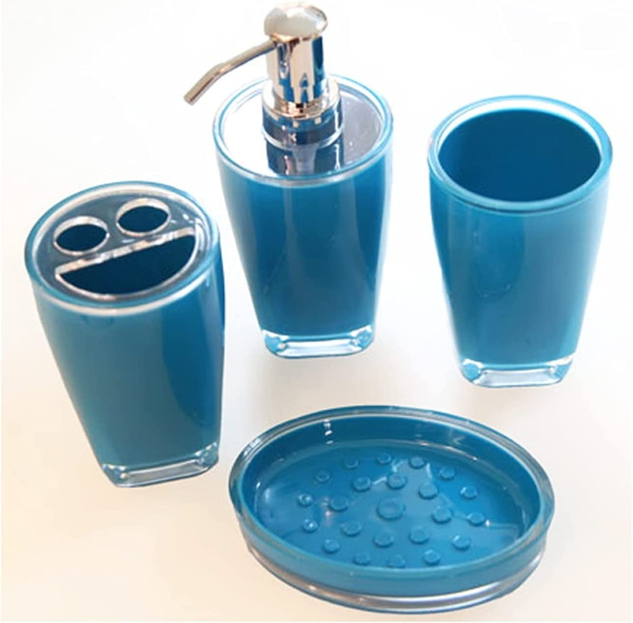 Soap Dispenser Department store Bottle Lotion Refreshing 4-piece Popular overseas Resin
