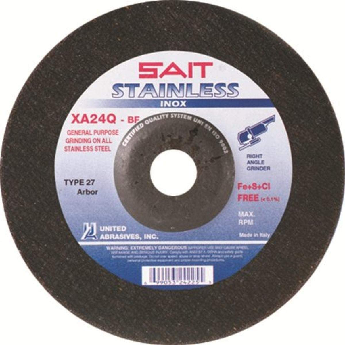 Fresno Mall United Abrasives-SAIT 24210 Type 27 lowest price 4-1 by 4-Inch 1 7 2-Inch