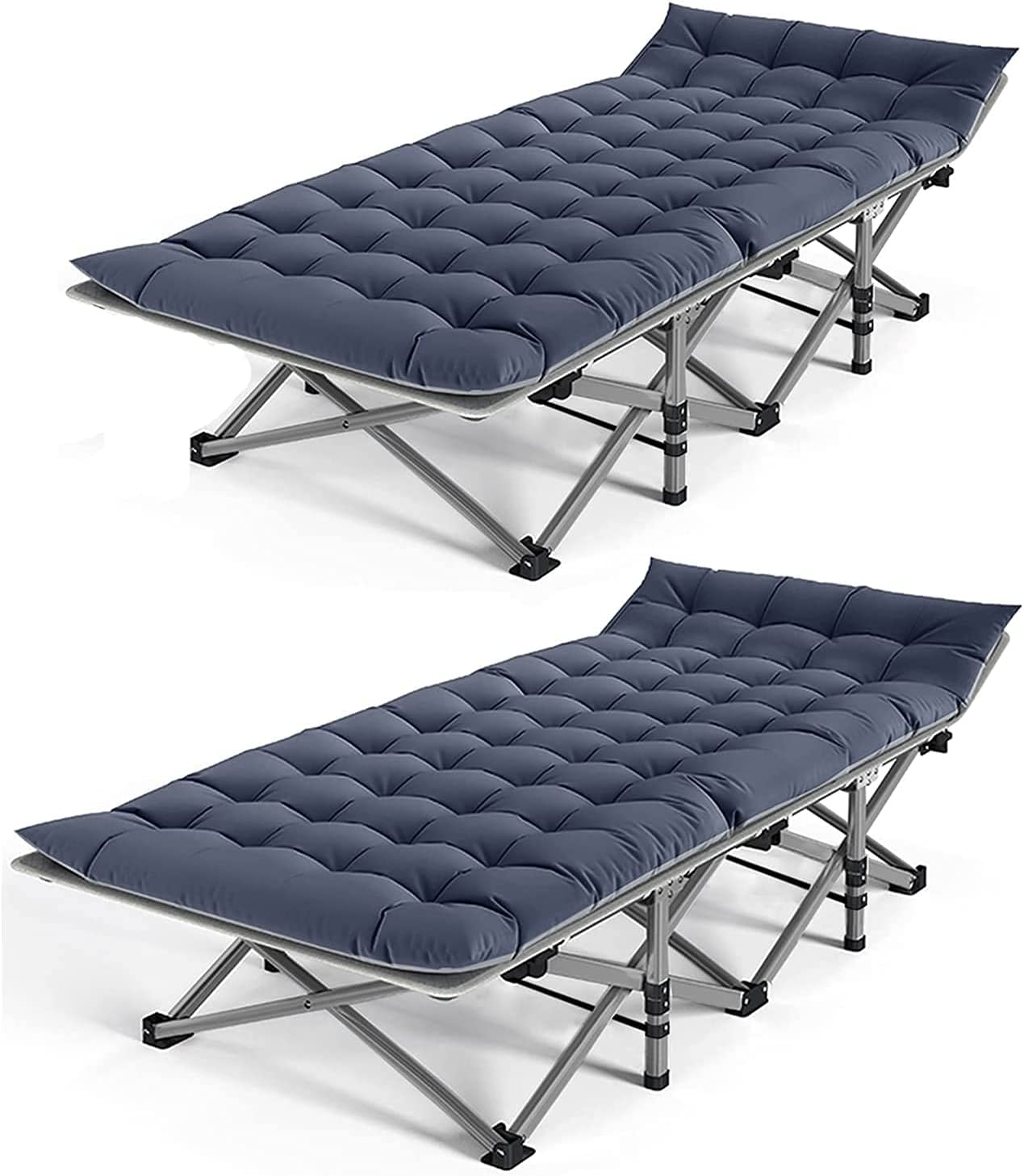 NAIZEA Folding Camping Bed 5 ☆ very popular Cots for L Heavy Adults Duty Max 61% OFF