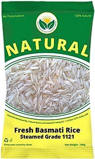 Fresh Basmati 1121 Steam Rice 20kg