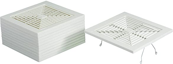 Broan-NuTone BP46 Fan Spring Mounted Grille, Pack of 1, White