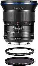 Venus Laowa 15mm f/2 FE Zero-D Lens for Sony E Mount Camera - Bundle with Hoya NXT Plus 72mm 10-Layer HMC Multi-Coated UV Lens Filter, Hoya NXT Plus 72mm 10-Layer HMC MC Circular Polarizer Lens Filter