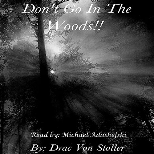 Don't go in the Woods audiobook cover art