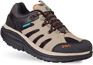 Gravity Defyer Women's G-Defy Radius - Best Waterproof Hiking Boots Foot Pain, Knee Pain, Back Pain, Plantar Fasciitis Shoes
