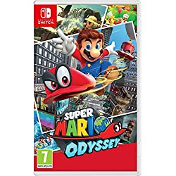 Nintendo Switch - Consola color Azul Neón/Rojo Neón + Super Mario Odyssey: Amazon.es: Videojuegos