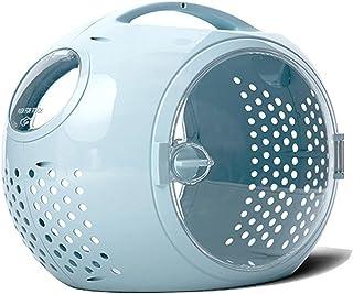 Pet Travel Carrier Bag Breathable Portable Cat Space Capsule High Quality (Color : Blue)