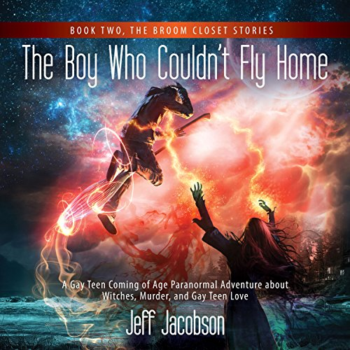 The Boy Who Couldn't Fly Home audiobook cover art