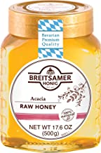 Breitsamer Acacia Honey Jar, 17.6 Ounce (Pack of 6)