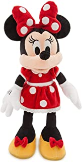 A Casa do Mickey Pelúcia Minnie Vermelha 32cms Original Disney Store