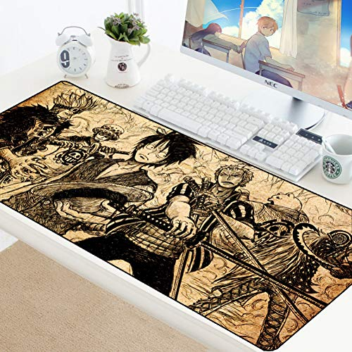 AUUUA alfombrilla ratón One Piece Gaming Mouse Pad