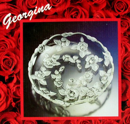 Walther Glas Georgina 1200467 - Piatto in Vetro Satinato, 335mm