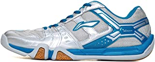 LI-NING Saga Lightweight Men Badminton Shoes Breathable Professional Sport Shoes for Male Sneakers AYTM085