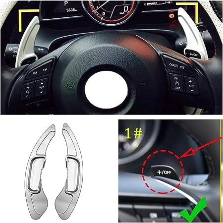 Ffz Parts Schaltwippen Verlängerung Shift Paddels Passend Für 3 6 Cx 3 Cx 4 Cx 5 Mx 5 Atenza Axelain Auto
