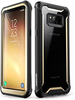 i-Blason Ares Full-Body Rugged Clear Bumper Case with Built-in Screen Protector for Samsung Galaxy S8+ Plus 2017 Release, ...