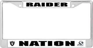 Rico Industries Raiders Nation Chrome Frame