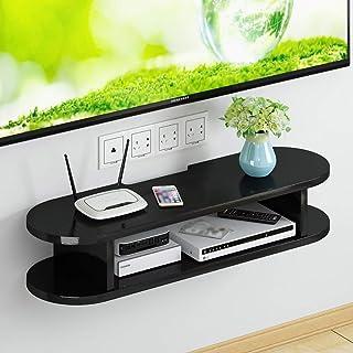 Los estantes flotantes Almacenamiento Rack Dormitorio Sala de estar TV Cabinete Pared Colgando Fondo de pared Decoración d...