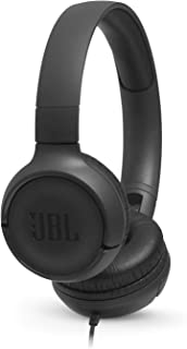 JBL TUNE 500 - Wired On-Ear Headphones - Black