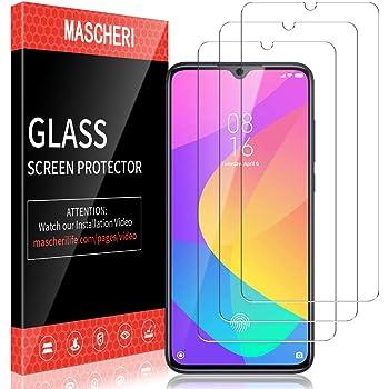 MASCHERI Protector de Pantalla para Xiaomi MI 9 Lite Cristal ...