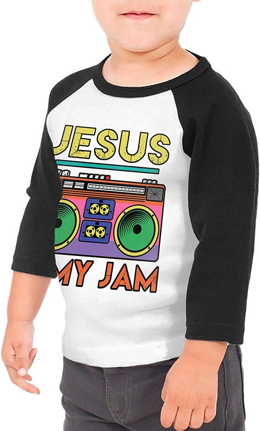 Jesus is My Radio Jam T-Shirts Novelty for Girls Tees with Cool Designs
