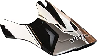 Vega Viper Jr Replacement Off-Road Helmet Visor with Stage Graphics (Black, One Size)